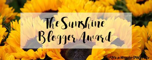 SunShineBloggerBlog